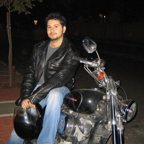 Я с мотоциклом